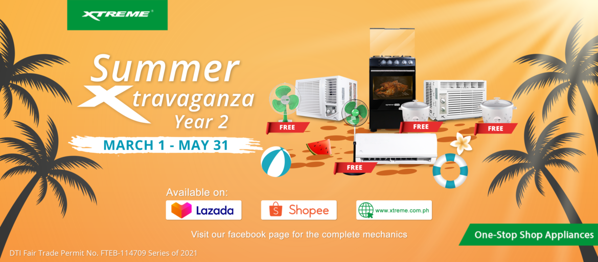 Start the summer off with our Summer Xtravaganza Promo!
