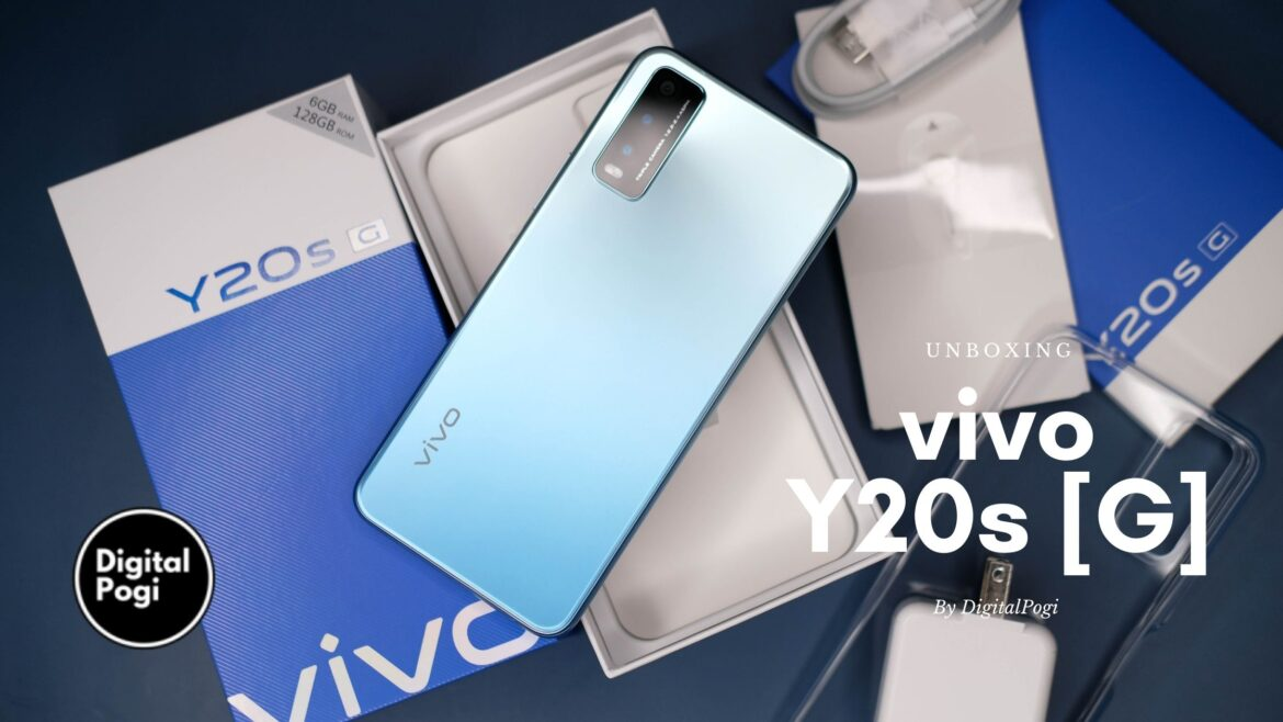 Unboxing vivo's Gaming Centric Phone – Y20s [G]