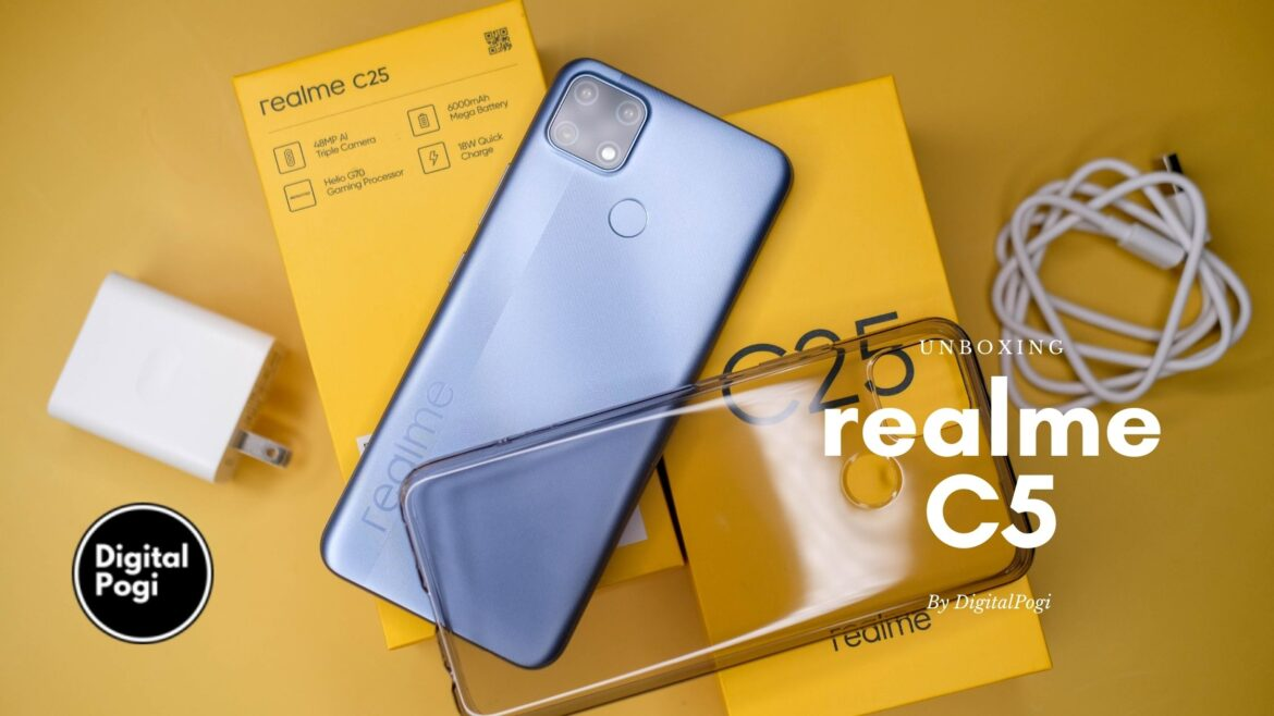 Unboxing The New realme C5 (Watery Gray)
