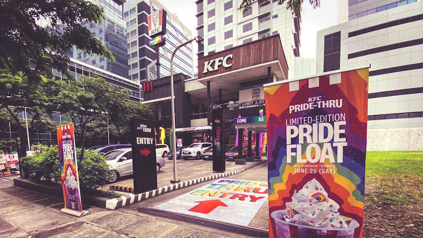 A Different Kind of Pride March – The KFC Pride-Thru