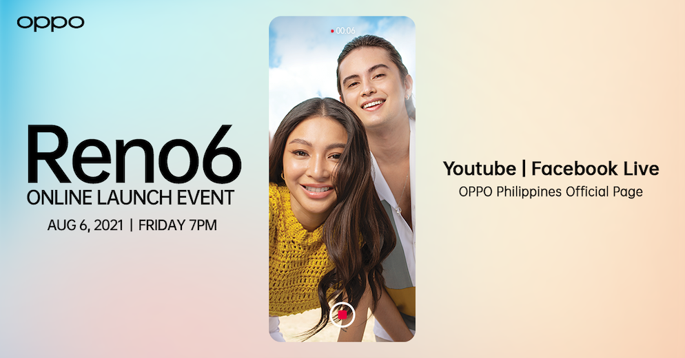 Flaunt Your Emotions in Portrait – OPPO Reno6 Series Arrives on August 6