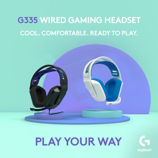 Logitech's G335 Wired Gaming Headset is Finally Coming to the Philippines this July