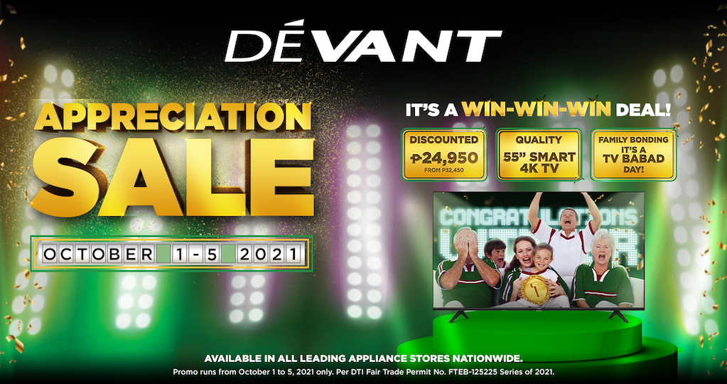 Huge Savings Are In Store For Loyal Customers At The Devant Appreciation Sale