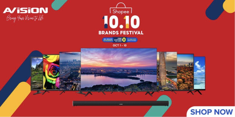Avision Philippines Joins Shopee 10.10 Brand Festival