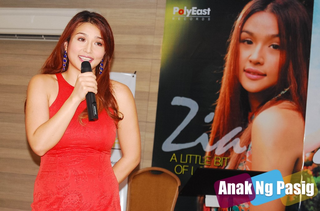 Zia Quizon Gives A Little Bit of Lovin'