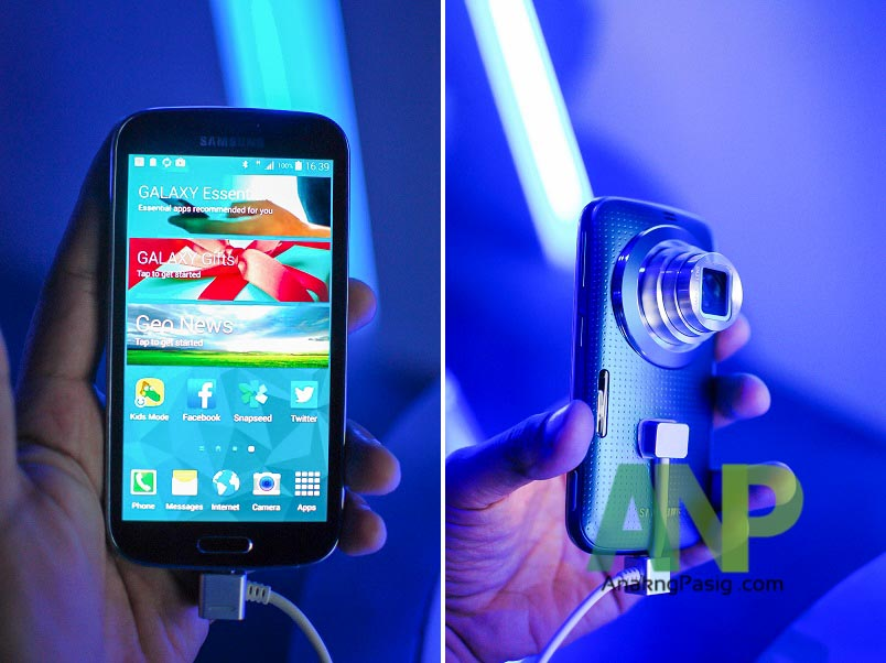 The Samsung Galaxy K Zoom Arrives
