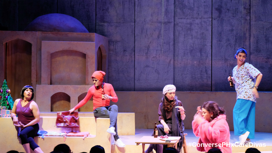 Converse PH Supports the Re-Run of the Hit Musical Comedy Care Divas