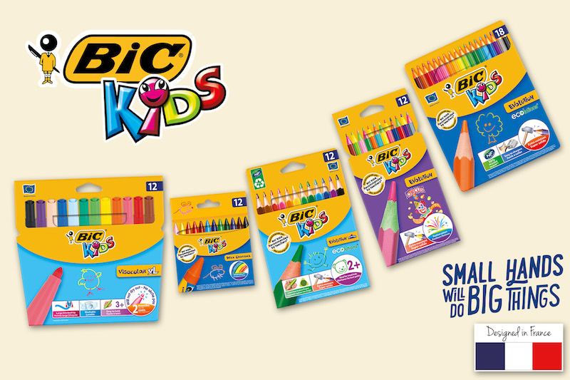 BIC® Launches a Collection of Coloring Products Designed for Kids