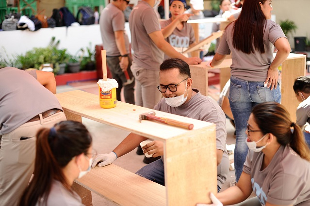 Starbucks Philippines Lends Support for Renovate to Educate Project