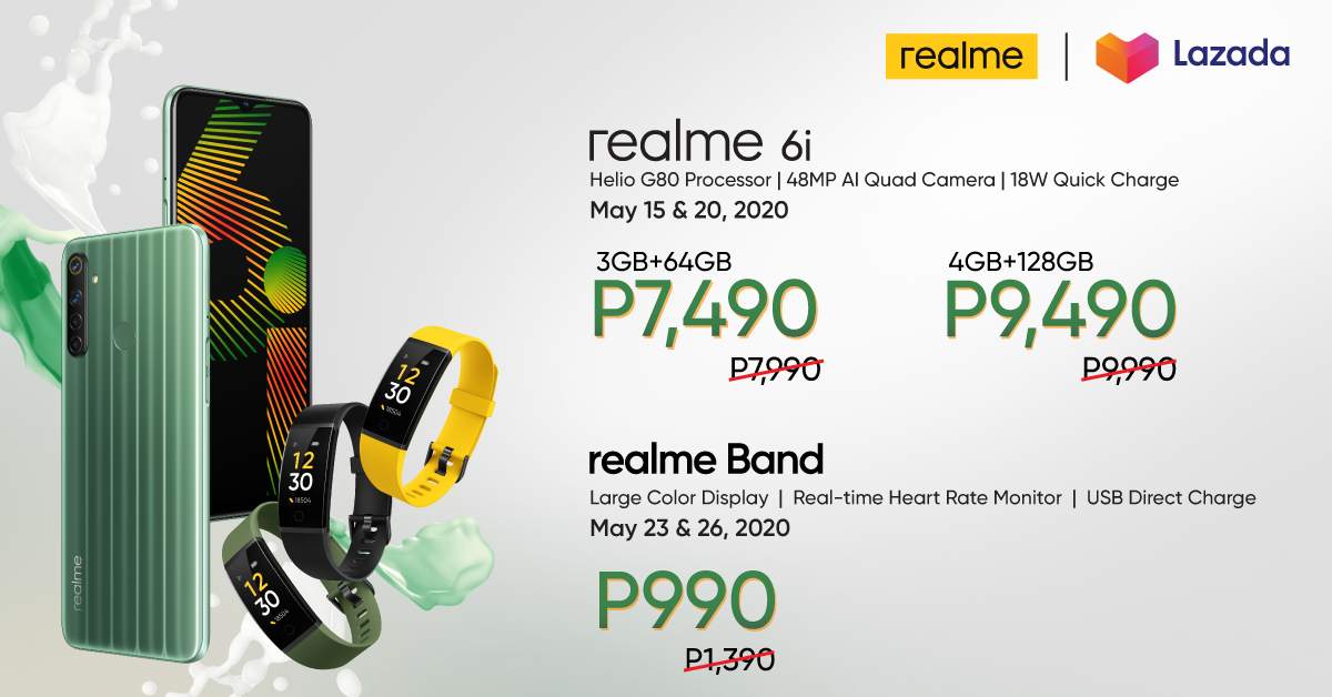 realme PH Launches realme 6i, Disrupts the Sub-10K Segment