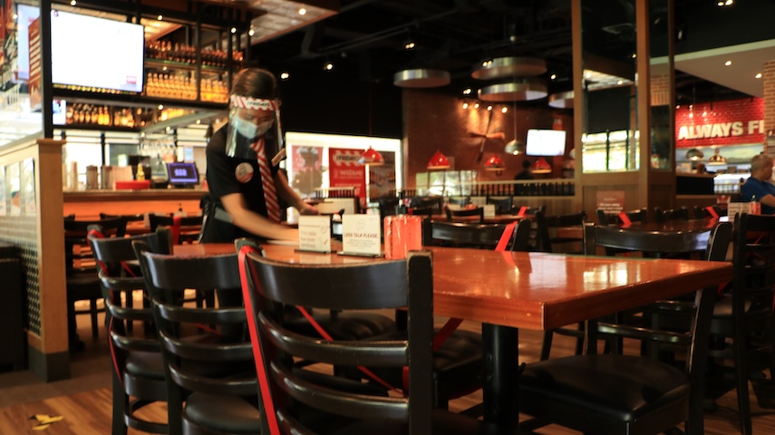 The Bistro Re-Opens Some Branches for Dine-In Guests.
