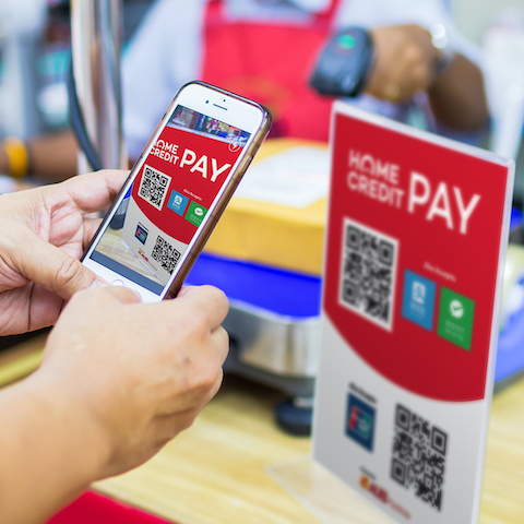 Home Credit Launches Credit Card w/ QR Payment