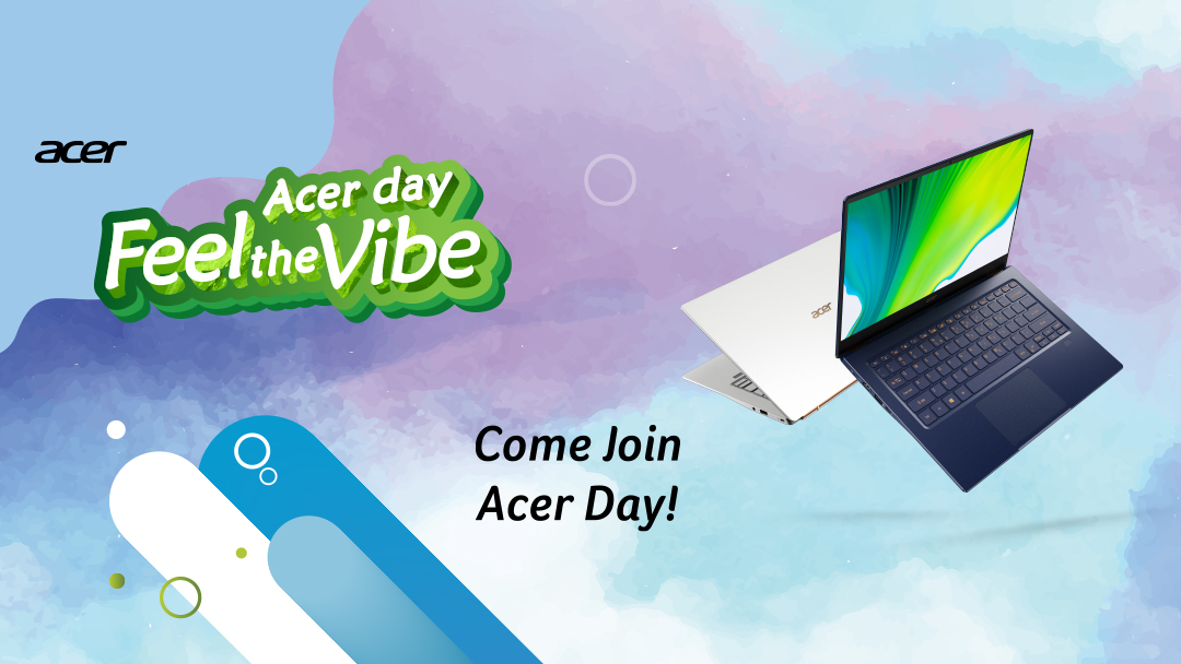 Acer Day 2020 Goes Online with Exclusive Deals, Treats