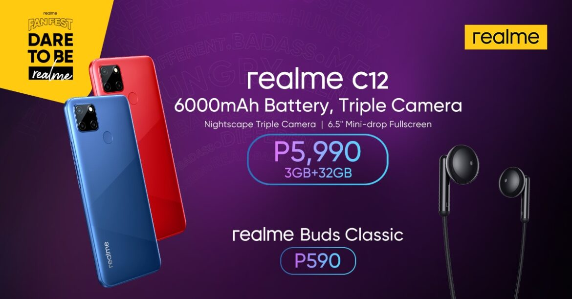 realme Fan Fest ends strong with the new realme C12 and Music Fan Fest