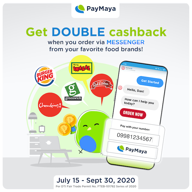 Get Twice the Perks when you Pay with PayMaya!