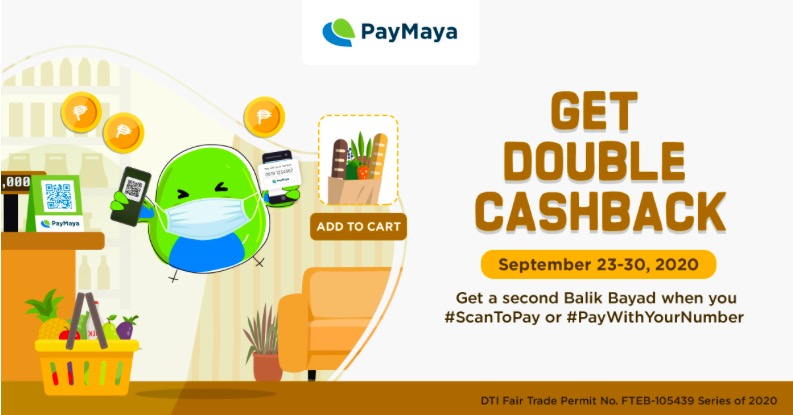 Double Up Your safety and Rewards with PayMaya Until September 30!