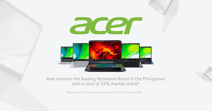 Acer Keeps No. 1 Ranking in Consumer, Gaming PCs in the Philippines