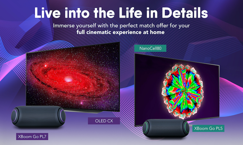 LG Home Entertainment – A Perfect Match