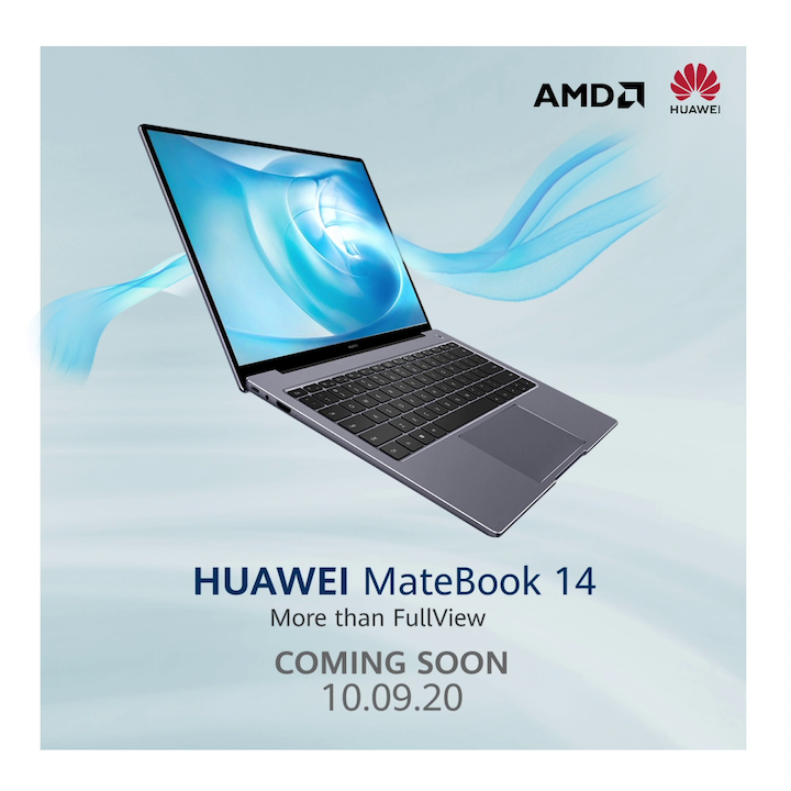 Huawei Teases the Launch of Matebook 14