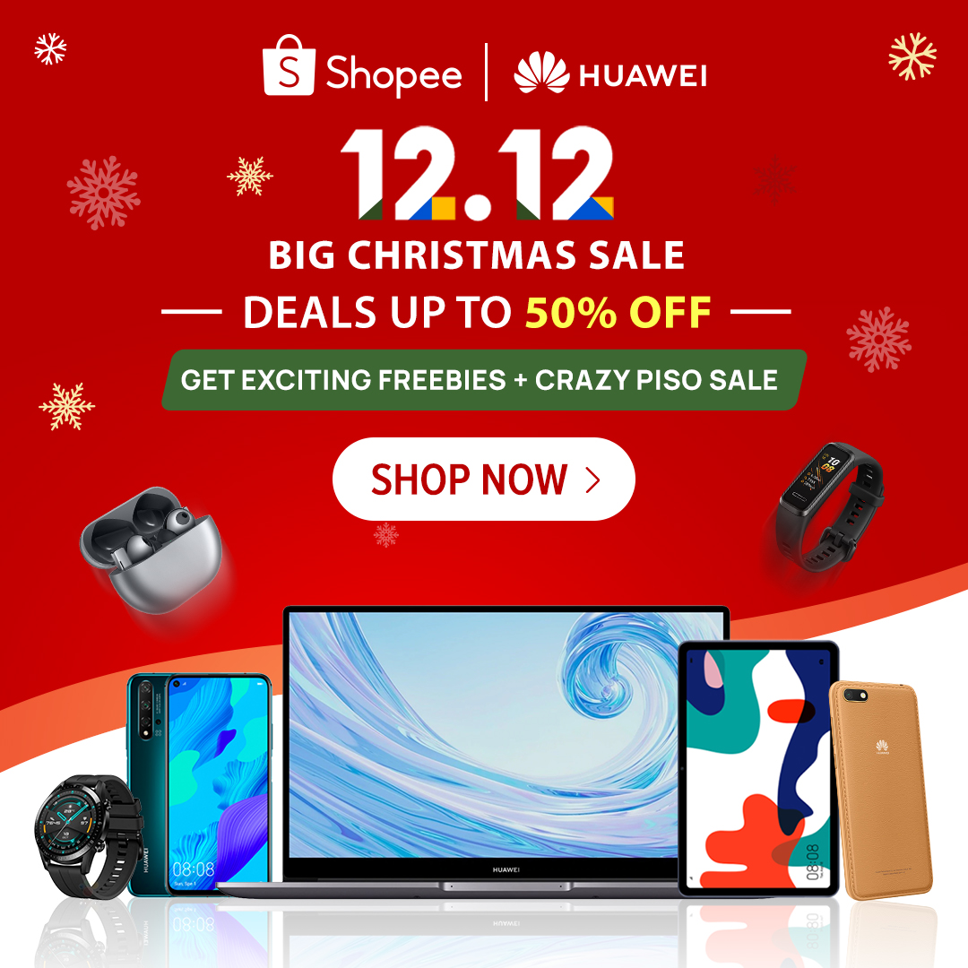 Huawei & Shopee's 12.12 Super Sale Event