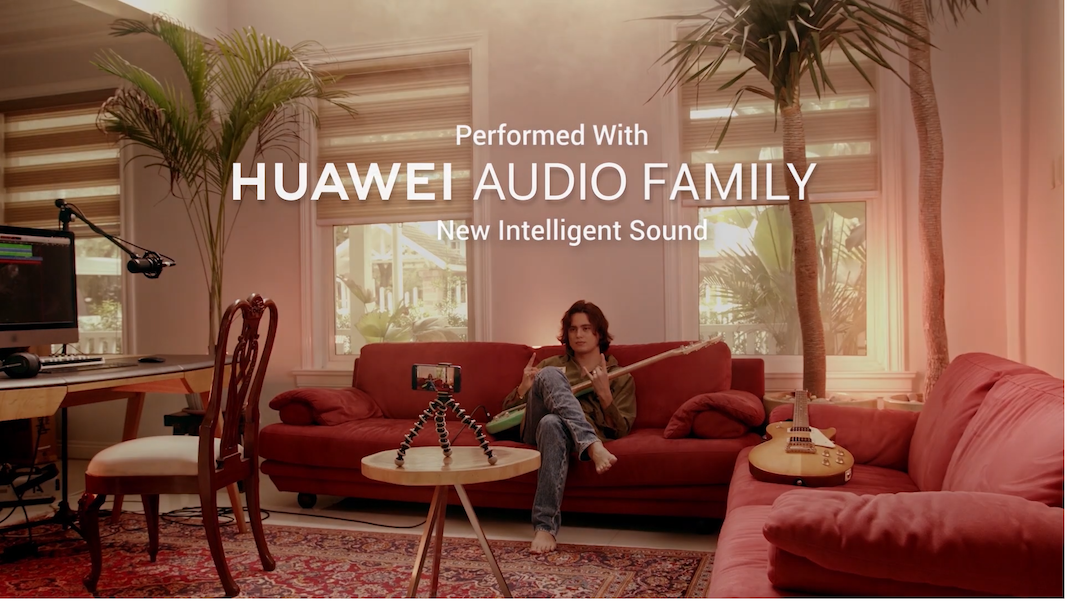 Huawei Audio Family Grooves to the Beat of 'Soda' Music Video