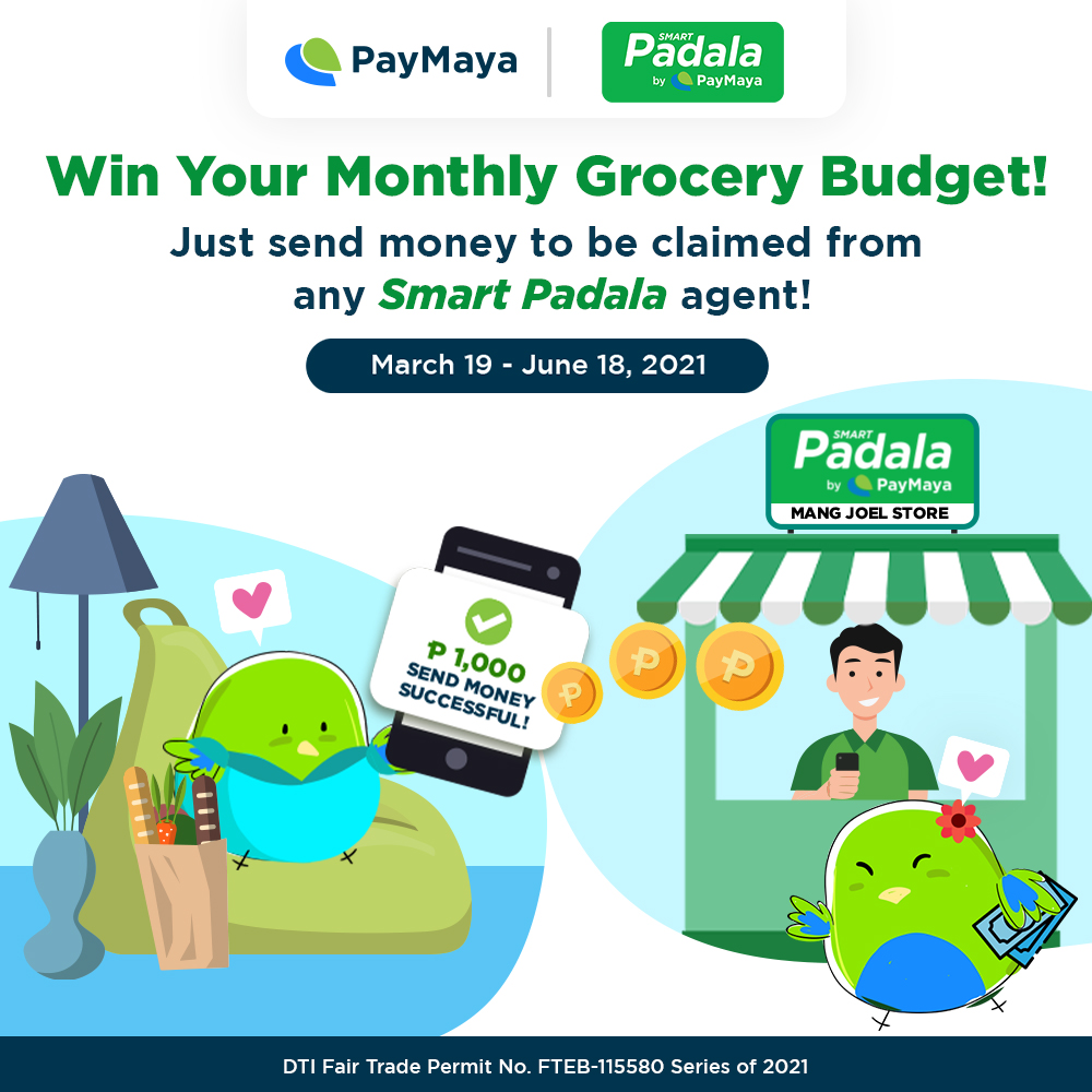 Win As Much As P100,000 When You Send Mey from PayMaya to Smart Padala