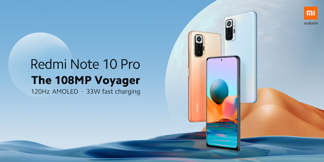 Xiaomi is Launching the Redmi Note 10 Pro in the Philippines
