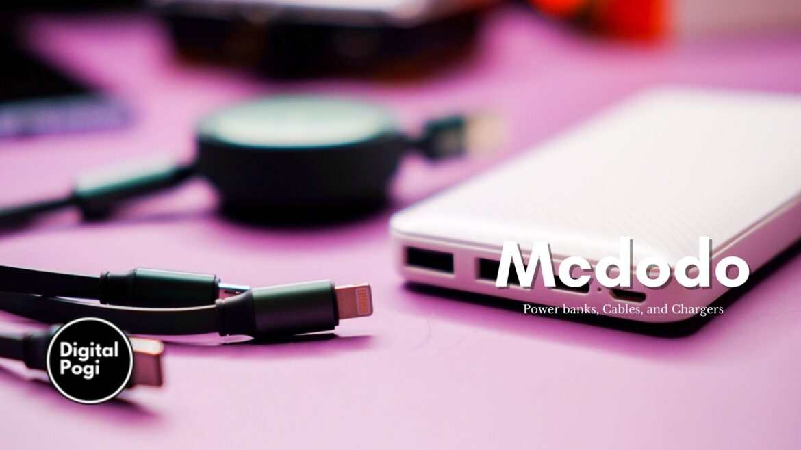 Mcdodo Power Banks, Cables, and Other Accessories Now on Shopee