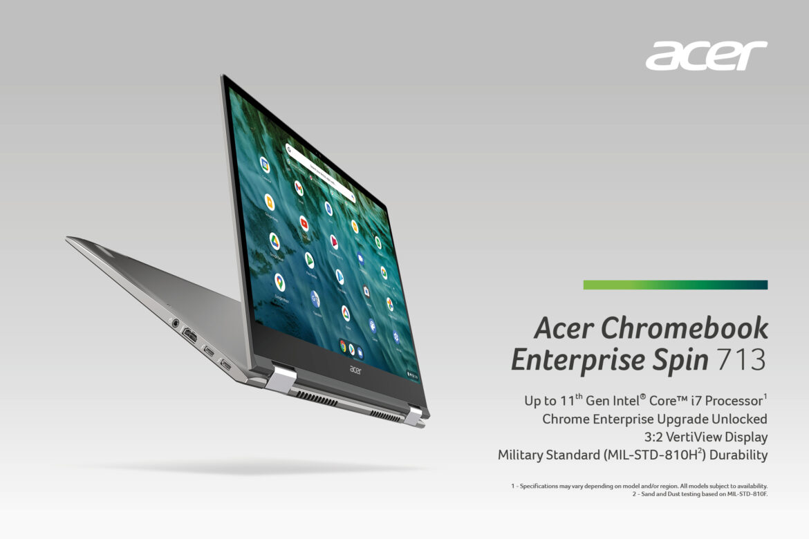 Acer Launches Four New Chromebooks, Including Industry's First 17-inch Model