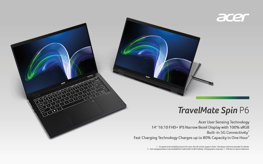 Acer Unveils New TravelMate P6 Series for Hybrid Workstyles