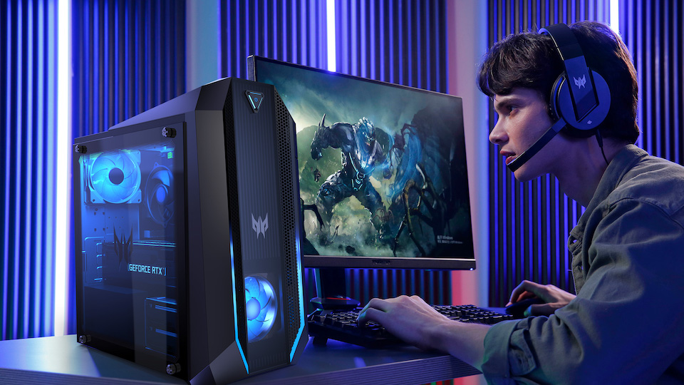 Acer Updates its Predator Orion and Nitro Gaming Desktops