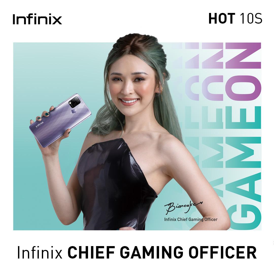 Infinix PH Taps Esports It-Girl Bianca Yao as Chief Gaming Officer