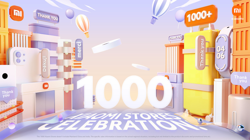 Xiaomi Celebrates 1000 Xiaomi Stores Event with Mi Fans Across the World