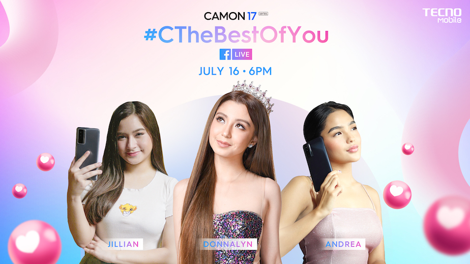 C The Best Of You with CAMON 17 LiveStream Show