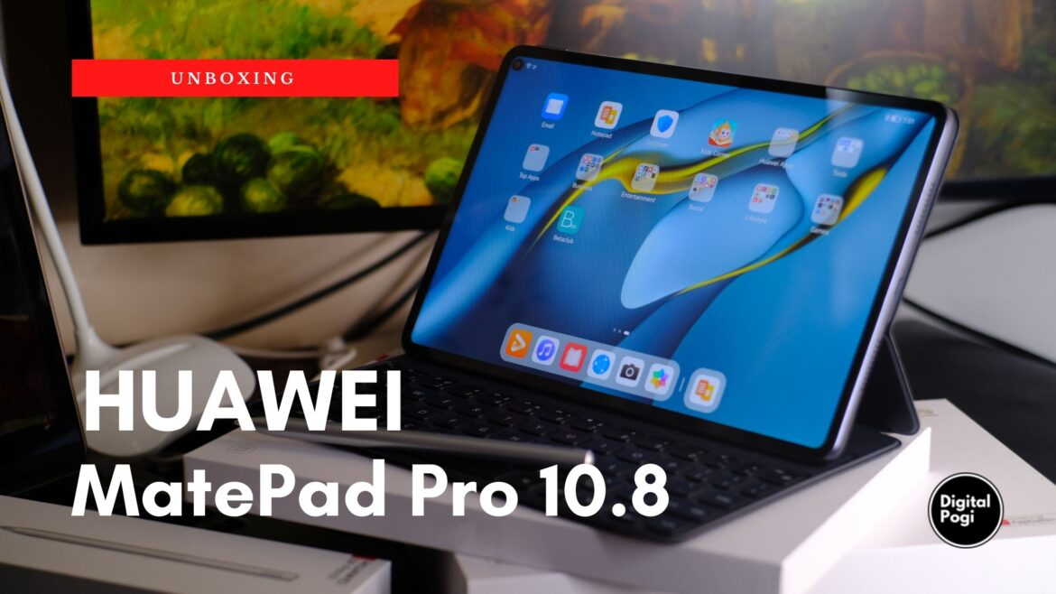 HUAWEI MatePad Pro 10.8 Unboxing and First Impressions