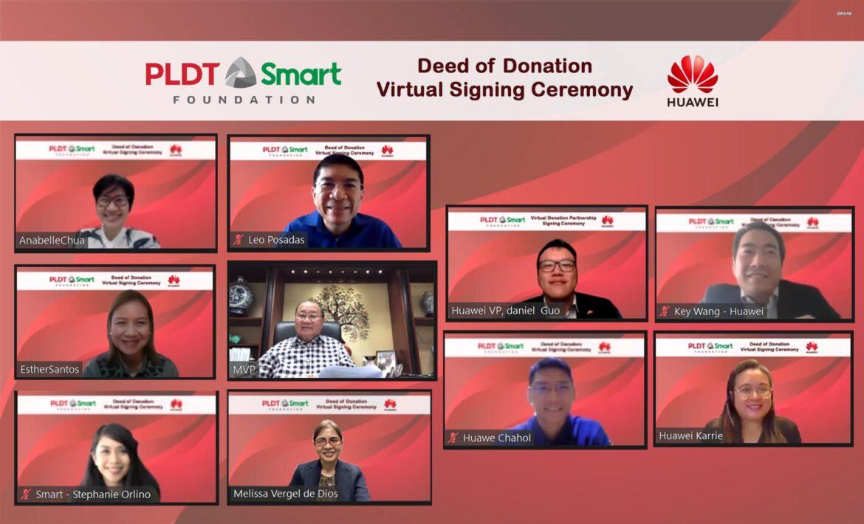 Huawei Donates $200,000 for PLDT Smart Foundation's CSR