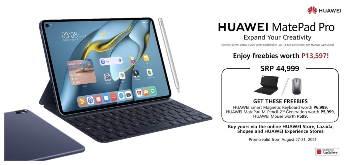 10.8″ HUAWEI MatePad Pro Now Available the Philippines