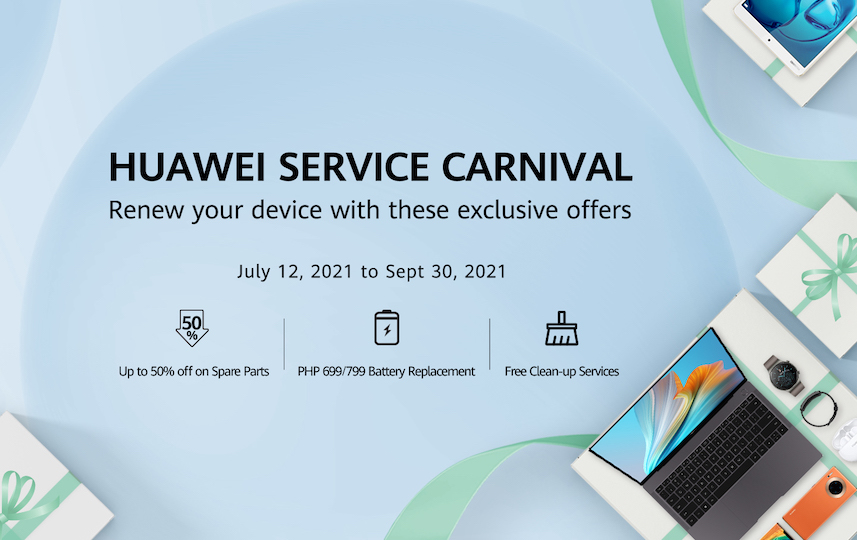 HUAWEI Culminates Service Carnival with Contests and Prizes