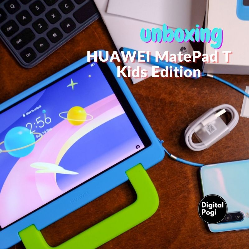 HUAWEI MatePad T Kids Edition Unboxing and First Impressions