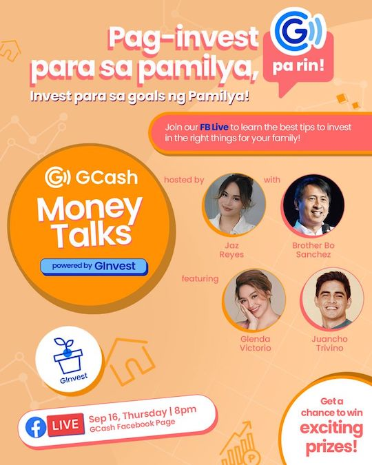 GCash Teaches You How To Invest for the Family