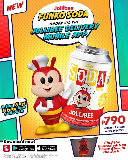 Get Your Hands on the New, Limited-Edition Jollibee Funko Soda!