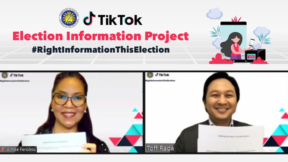TikTok and COMELEC Team Up to Encourage More Filipinos to Vote