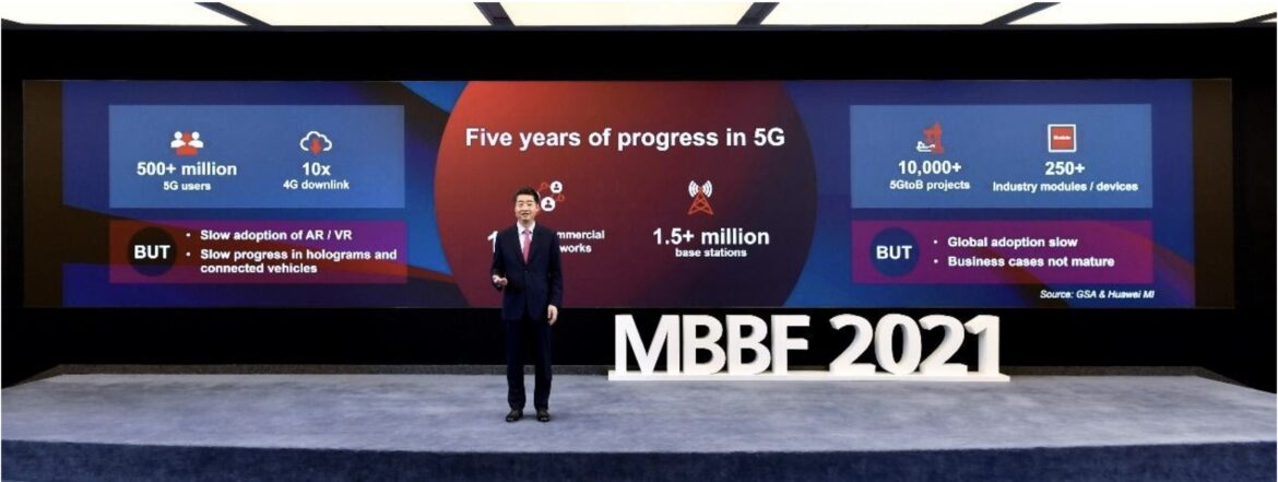 Huawei's Ken Hu Calls on ICT Industry to Work Together on Next Stage of 5G Development